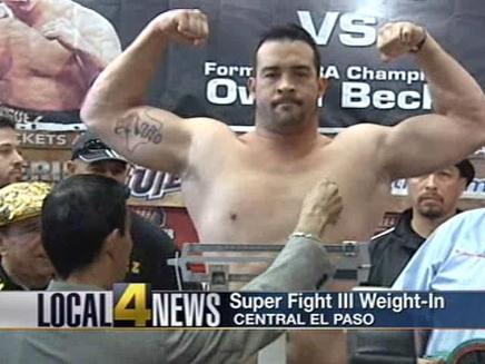 Heavyweight David Rodriguez's New Year's Resolution