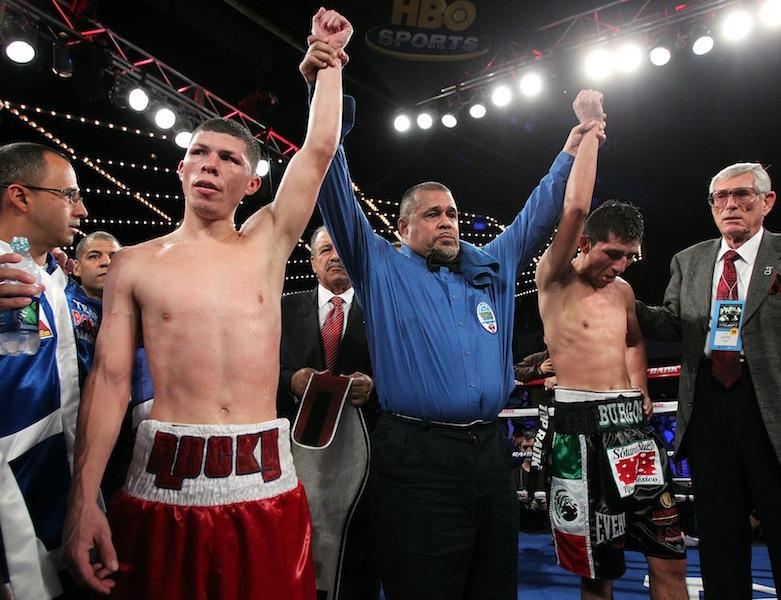 Martinez and Burgos Fight