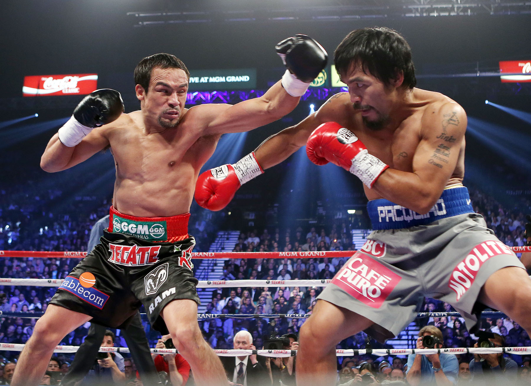 Marquez Doesn't Retire, Fights Manny For Fifth Time