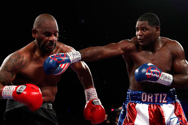 Ortiz Stops Thompson