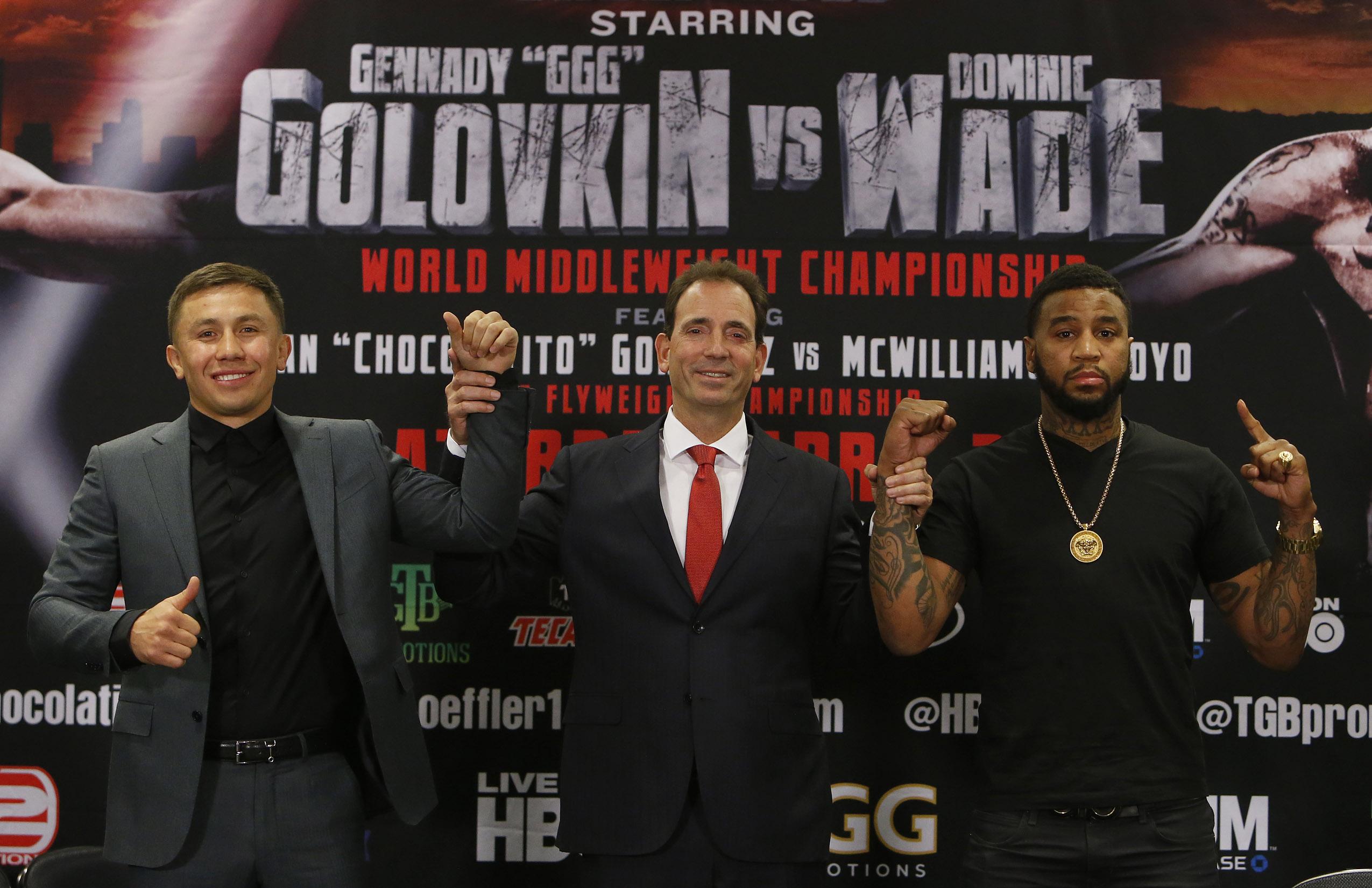 Dominic Wade Promises War