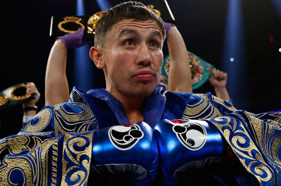 """cfb19a81597 BIG BEAR LAKE, Ca.-Standing in the middle of the mountaintop boxing gym  Gennady """"Triple G"""" Golovkin looks like any other person as reporters gather  around ..."""