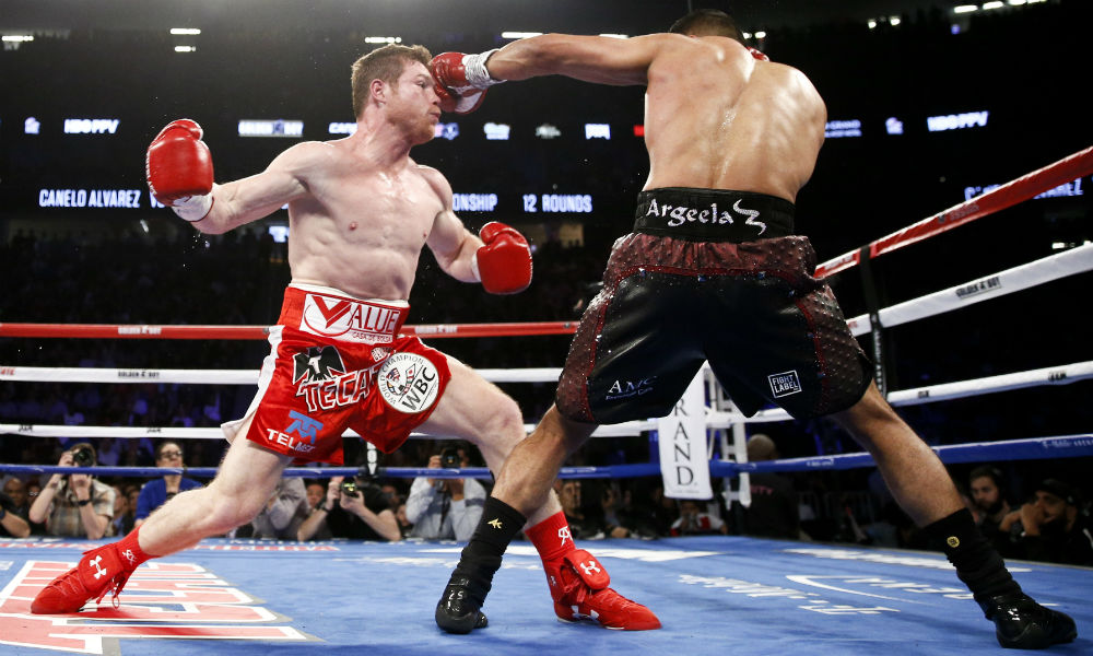 Canelo Hasn't Improved Since Fighting Mayweather