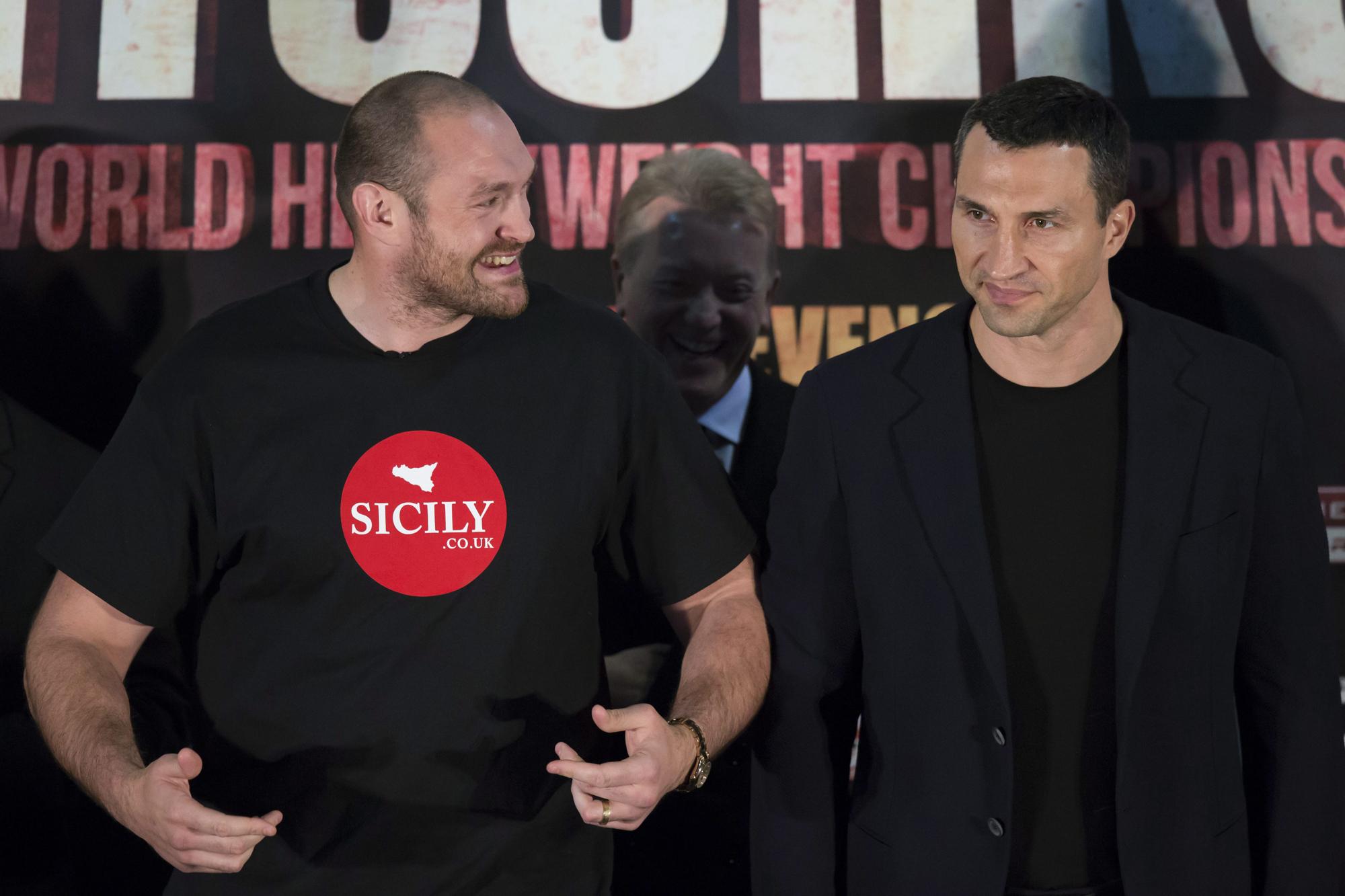 Fury vs Klitschko 2
