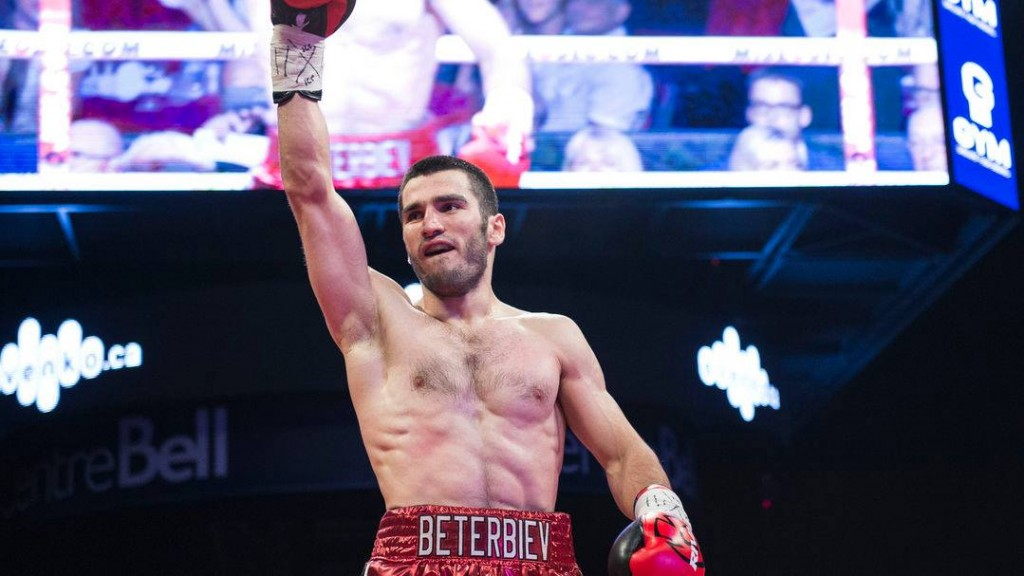 Beterbiev Looks Poised