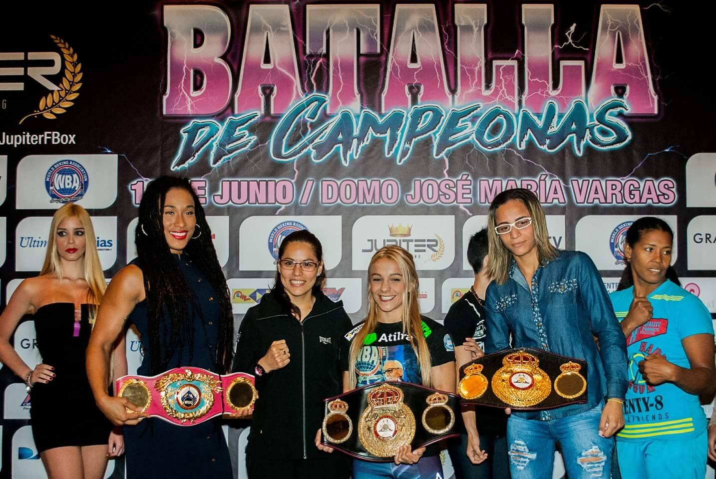 Historic Female Boxing Extravaganza