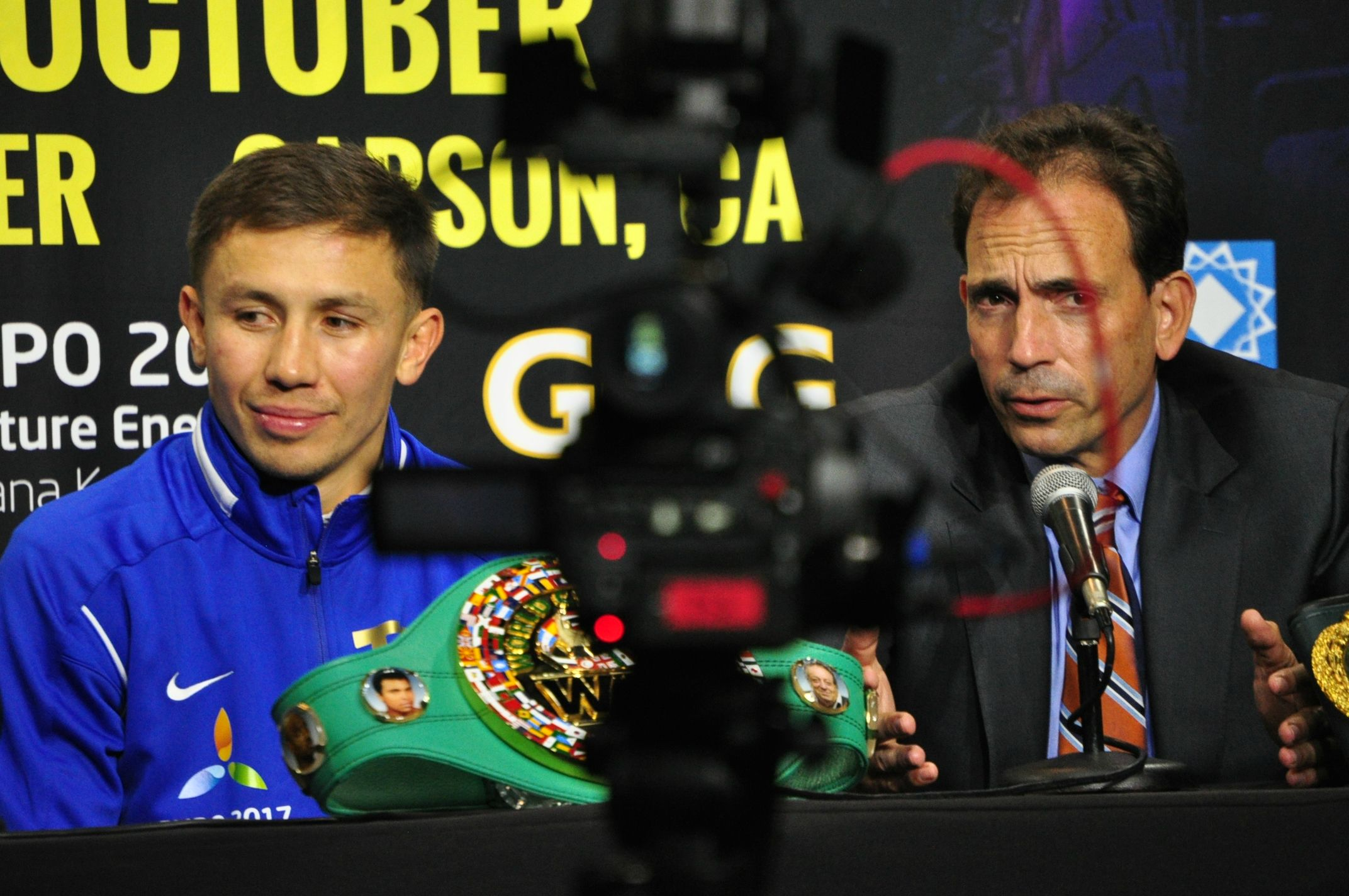 GGG Meets With the LA Media