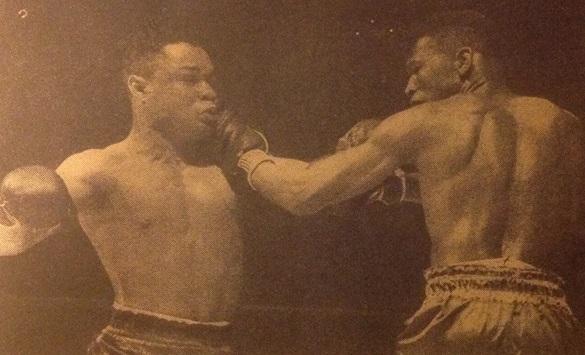 Sugar Ray Robinson vs Henry Armstrong