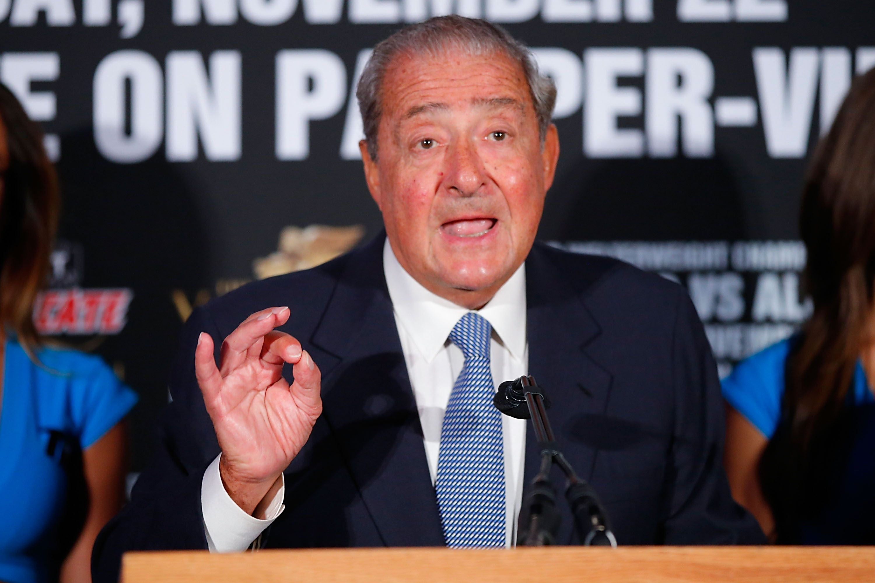 Top Rank Boxing Honcho Bob Arum
