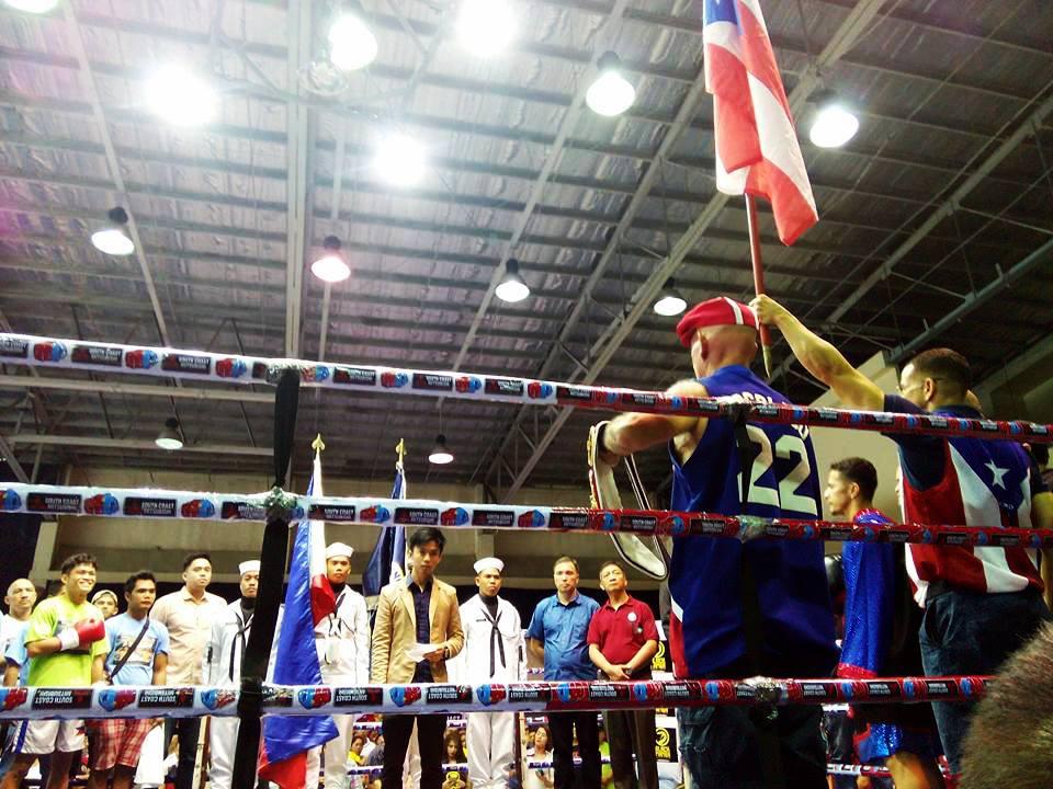 Arroyo Keeps IBF 115 Pound Title