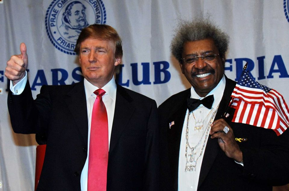 DON KING FORESAW TRUMP'S UPSET