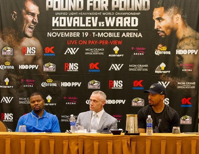 Sergey Kovalev battles Andre Ward
