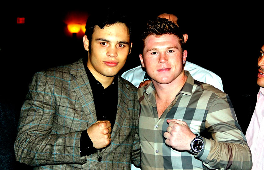 CHAVEZ JR vs CANELO