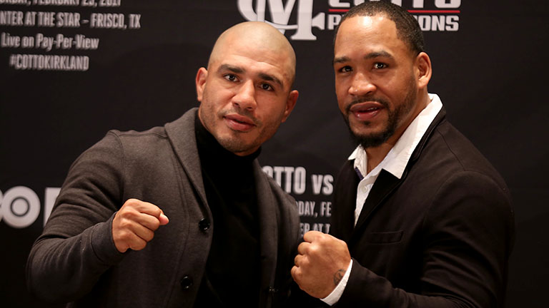 MIGUEL COTTO vs JAMES KIRKLAND