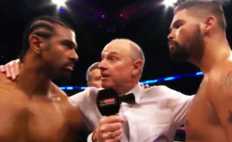 Haye vs Bellew Slug