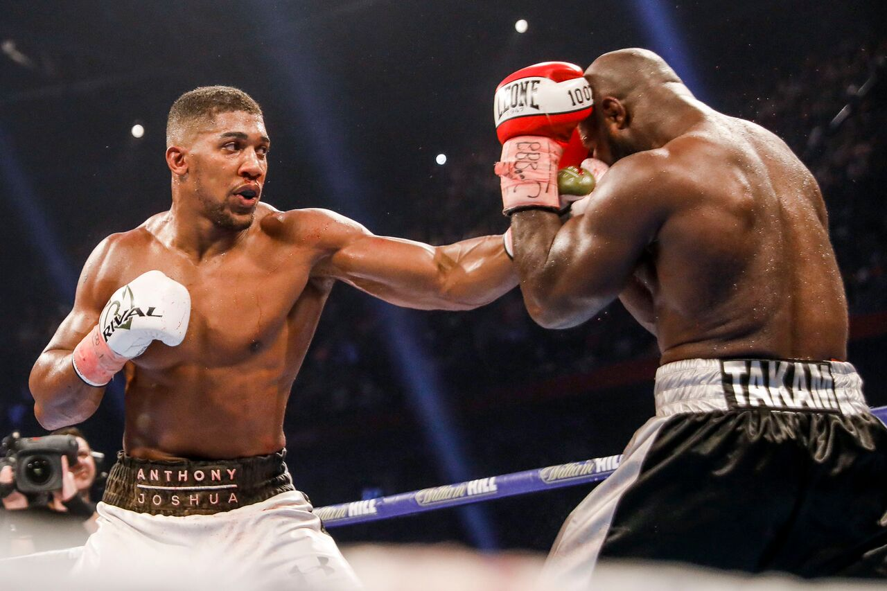 Joshua vs Takam Results