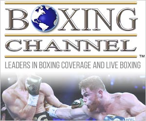 Visit Boxing Channel for more news and Videos
