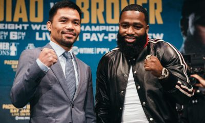 Pacquiao Broner Press Conference