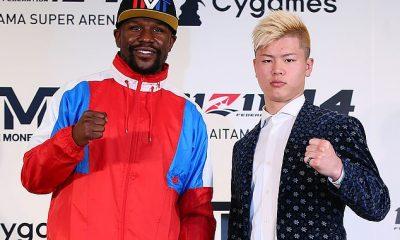 Floyd Mayweather and Tenshin Nasukawa