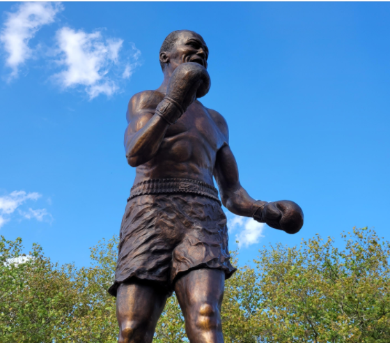 Late-Bloomer-Jersey=Joe-Walcott-Goes-the-Ditance-Again-With-Statue-in-Camden